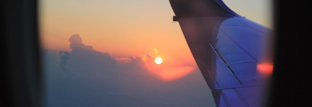 Overcoming Your Fear of Flying - Airplane Window View