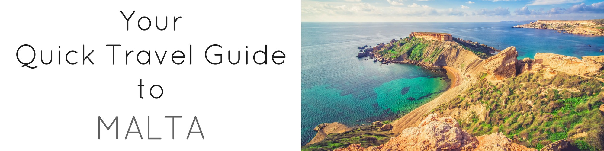 Quick Travel Guide to Malta