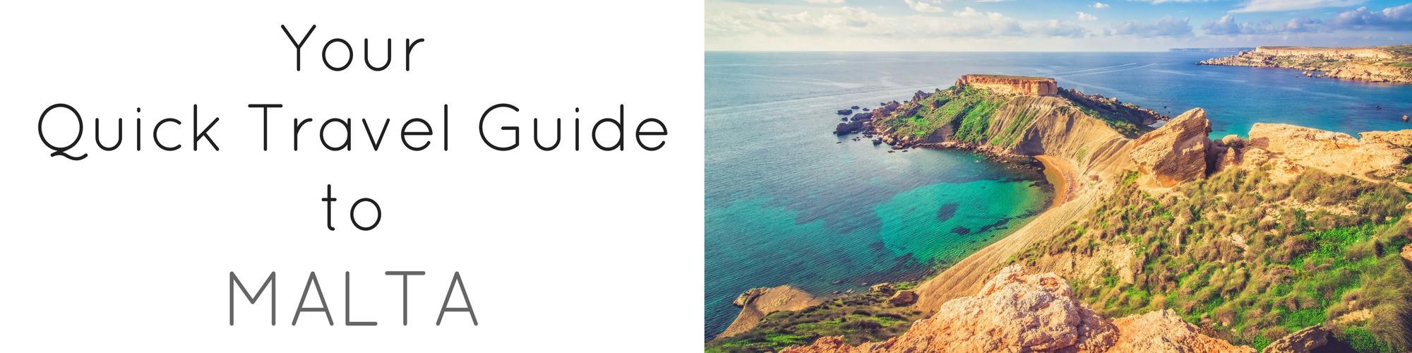 Quick Travel Guide to Malta