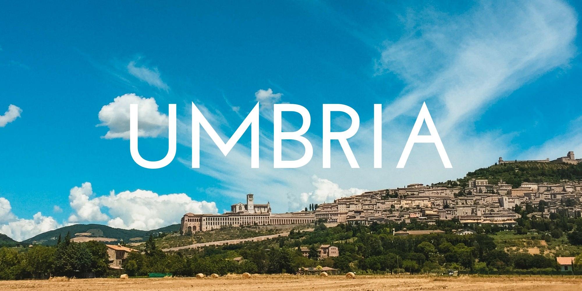 Umbria - Authentic Traveling - Header