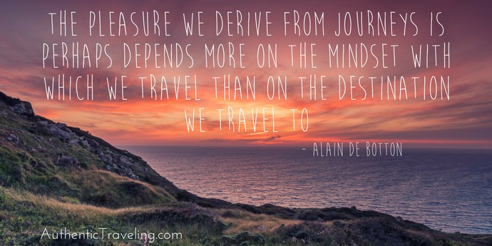 Alain De Botton - Best Travel Quotes - Authentic Traveling