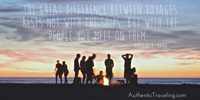 Amelia E Barr - Best Travel Quotes - Authentic Traveling