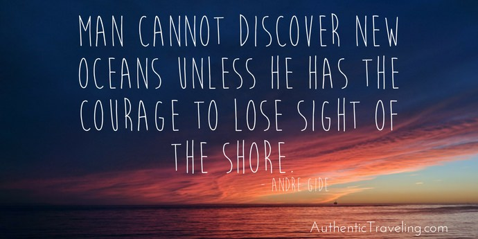 Andre Gide - Best Travel Quotes - Authentic Traveling
