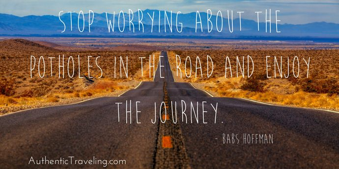 Babs Hoffman - Best Travel Quotes - Authentic Traveling