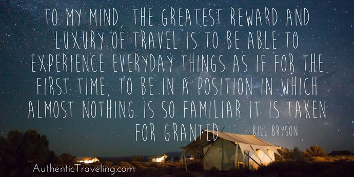 Bill Bryson - Best Travel Quotes - Authentic Traveling