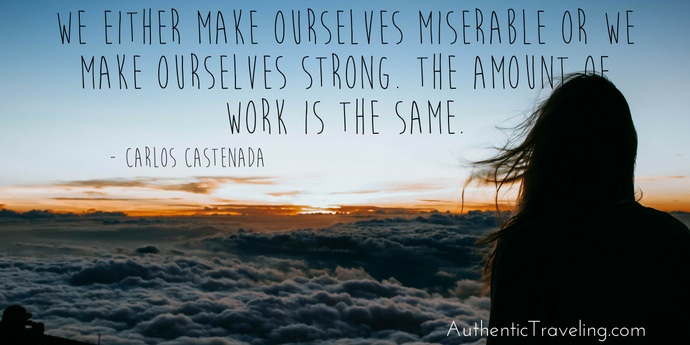 Carlos Castenada - Best Travel Quotes - Authentic Traveling