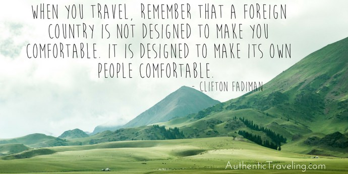 Clifton Fadiman - Best Travel Quotes - Authentic Traveling