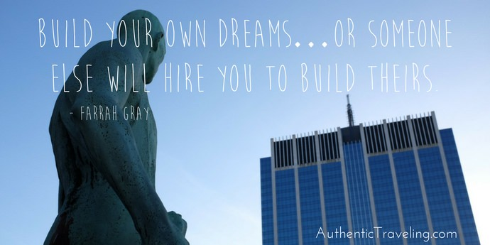 Farrah Gray - Best Travel Quotes - Authentic Traveling