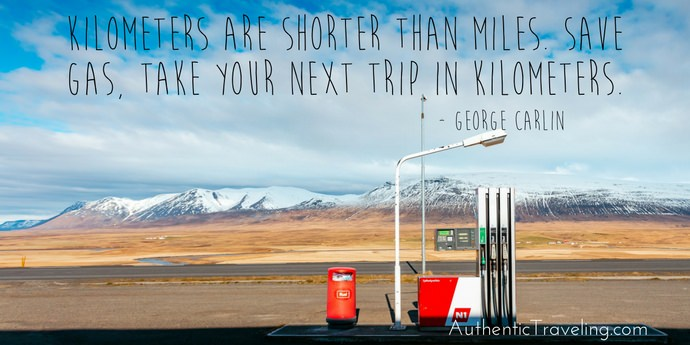 George Carlin - Best Travel Quotes - Authentic Traveling