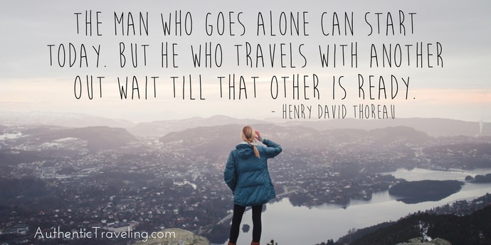 Henry David Thoreau - Best Travel Quotes - Authentic Traveling
