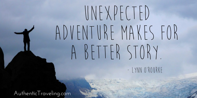Lynn O'Rourke - Best Travel Quotes - Authentic Traveling