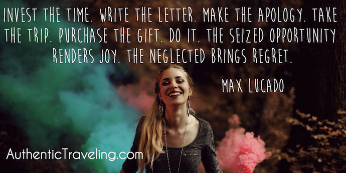 Max Lucado - Best Travel Quotes - Authentic Traveling