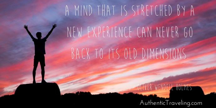 Oliver Wendell Holmes - Best Travel Quotes - Authentic Traveling