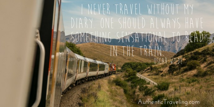 Oscar Wilde - Best Travel Quotes - Authentic Traveling