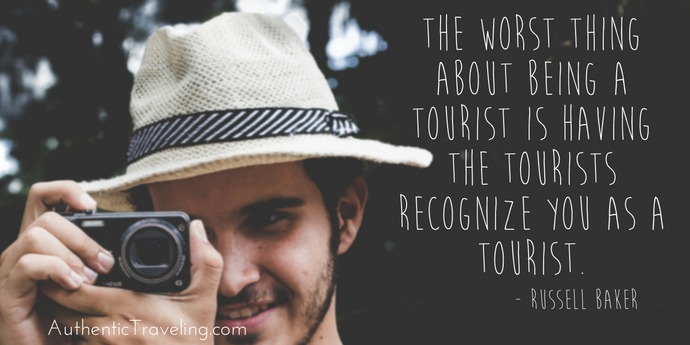 Russell Baker - Best Travel Quotes - Authentic Traveling