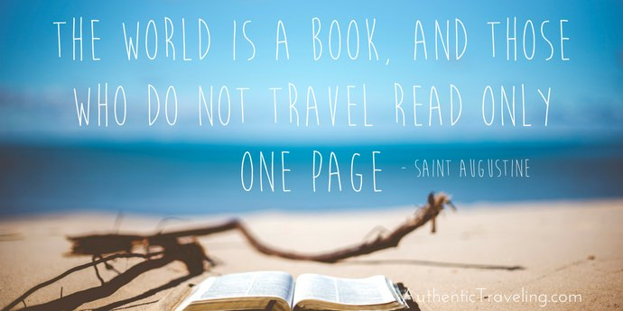 Saint Augustine - Best Travel Quotes - Authentic Traveling