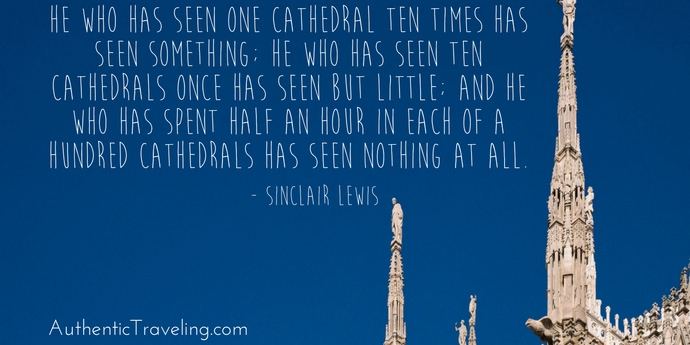 Sinclair Lewis - Best Travel Quotes - Authentic Traveling