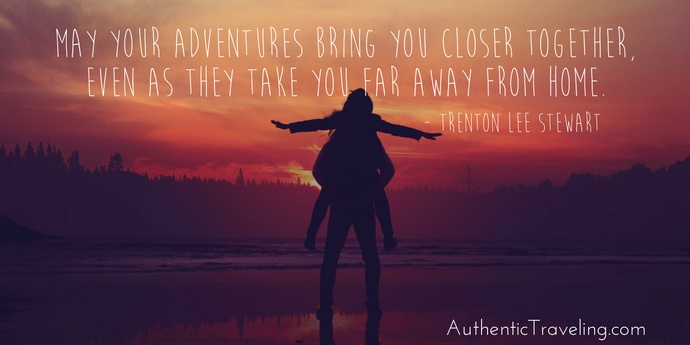 Trenton Lee Stewart - Best Travel Quotes - Authentic Traveling