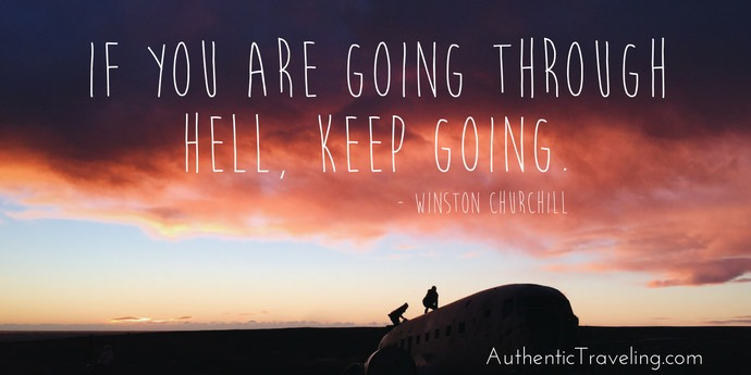 Winston Churchill - Best Travel Quotes - Authentic Traveling