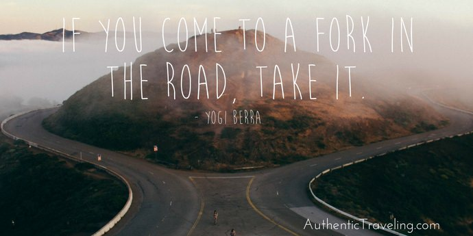Yogi Berra - Best Travel Quotes - Authentic Travling