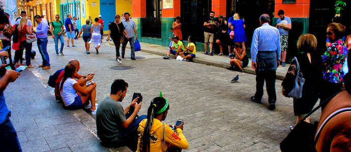 Myths About Cuba - Public Wifi - Authentic Traveling