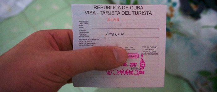 Myths About Cuba - Tarjeta del Turista - Authentic Traveling