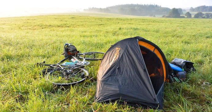 Biking Across Europe - Camping in Czech Republic - Authentic Traveling