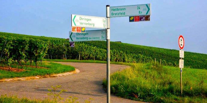 Biking Across Europe - Road Signs - Authentic Traveling