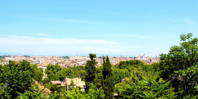 How to Save Money and Avoid Crowds in Rome - Gianicolo Hill - Authentic Traveling