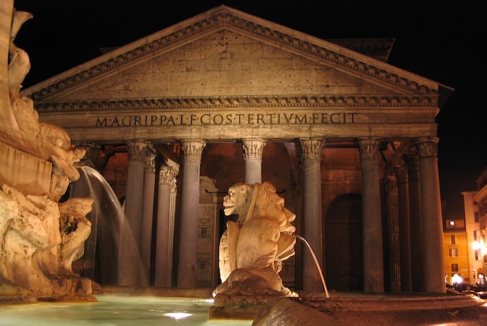 How to Save Money and Avoid Crowds in Rome - Pantheon at Night - Authentic Traveling