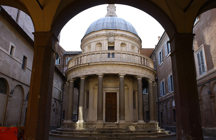 How to Save Money and Avoid Crowds in Rome - San Pietro in Montorio - Authentic Traveling