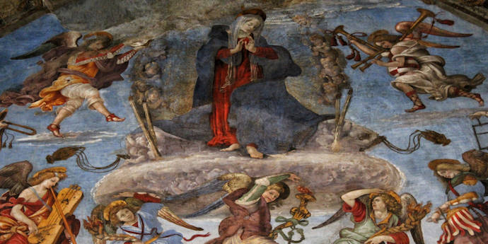 How to Save Money and Avoid Crowds in Rome - Santa Maria Sopra Minerva- Authentic Traveling