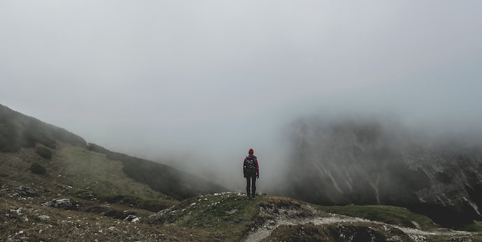 Travel Expectations - Foggy Mountain Top - Authentic Traveling
