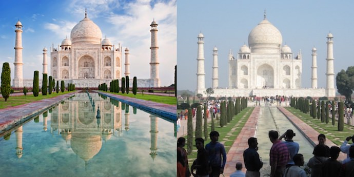 Travel Expectations - Taj Mahal - Authentic Traveling
