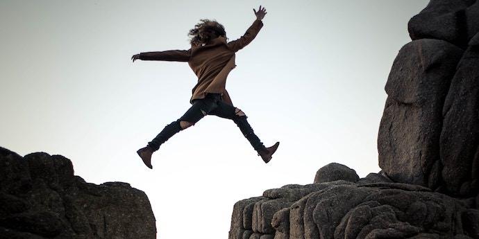 Travel Mindset - Courage - Authentic Traveling