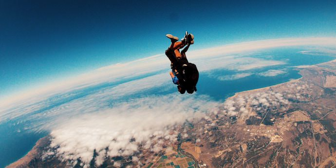 Courageous Traveling - Skydiving - Authentic Traveling