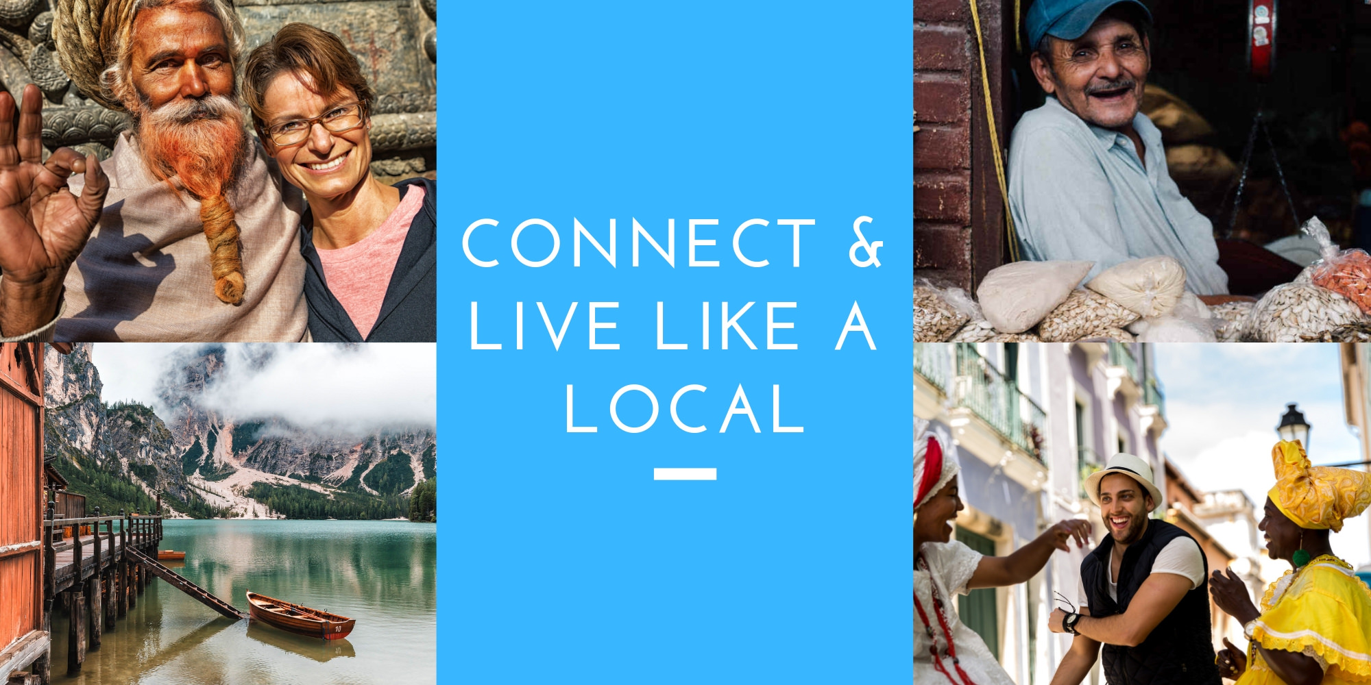 Connect and Live Like a Local - Header