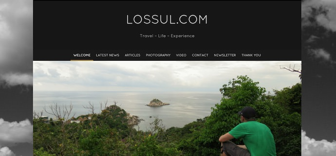 Travel Community - Lossul Frontpage - Authentic Traveling