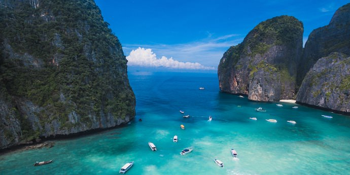 Travel Community - Maya Bay - Authentic Traveling
